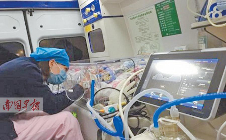 1月6日焦点图:巴马950克早产儿转运至六开彩开奖现场直播救治