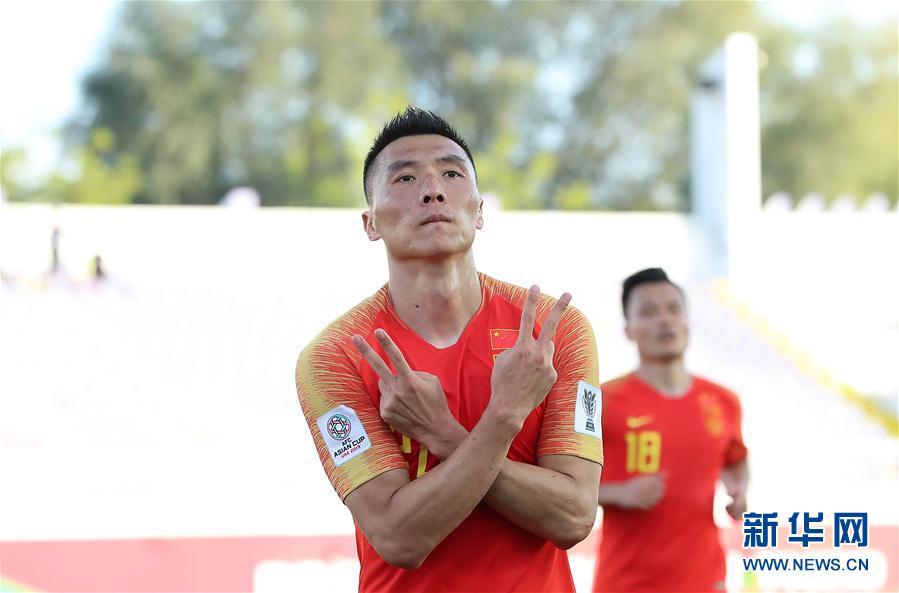 高清组图|亚洲杯:中国胜吉尔吉斯斯坦
