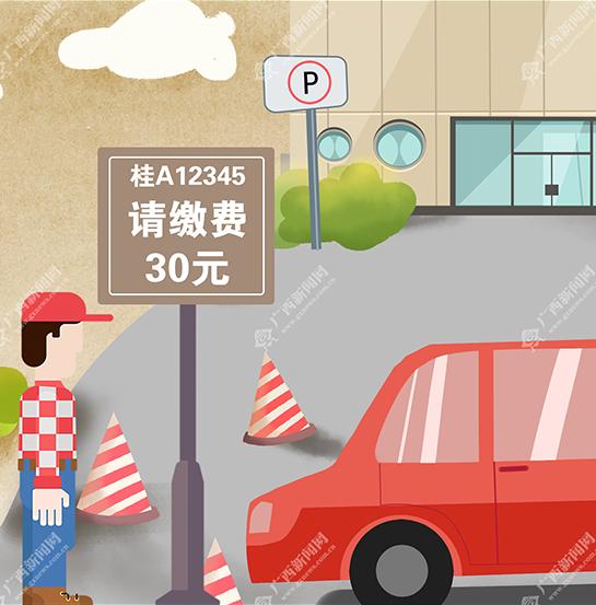 【新桂漫画】停车费涨价