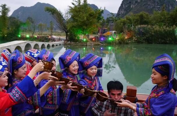 靖西新春民俗文化旅游节精彩不断