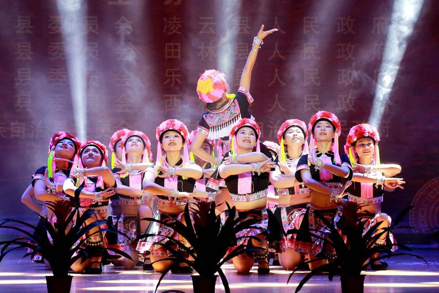 百色市西北五县迎新春联欢晚会精彩上演(图)
