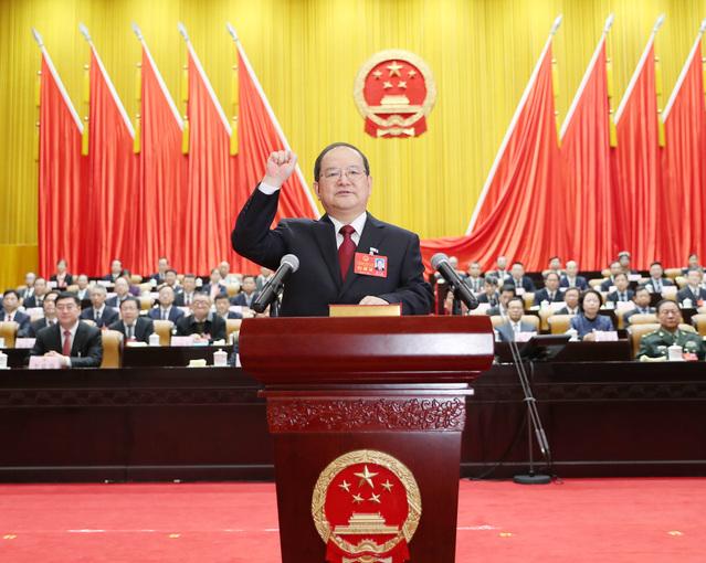 快讯丨鹿心社当选广西壮族自治区人大常委会主任