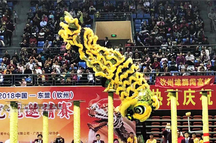 广西龙狮协会召开总结会 计划2019年举办8项大赛