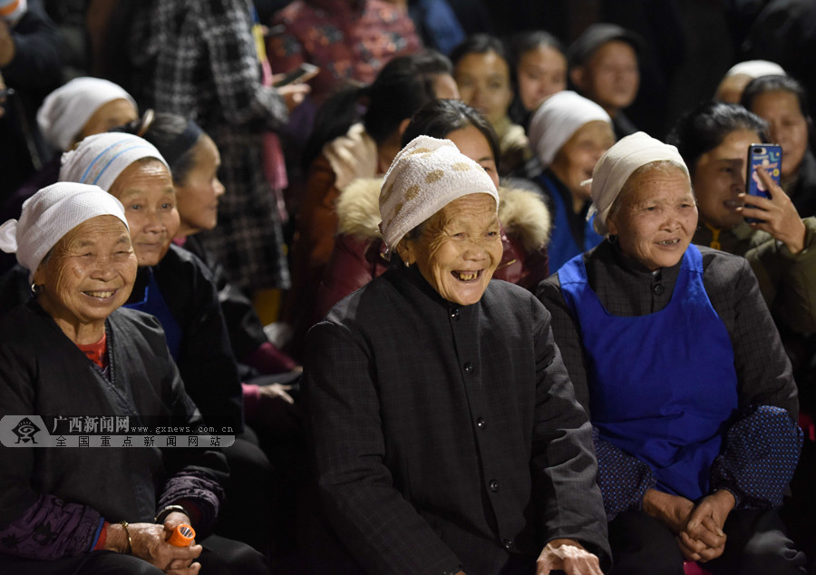 三江举办团圆年饭活动 村民以多种形式喜迎佳节