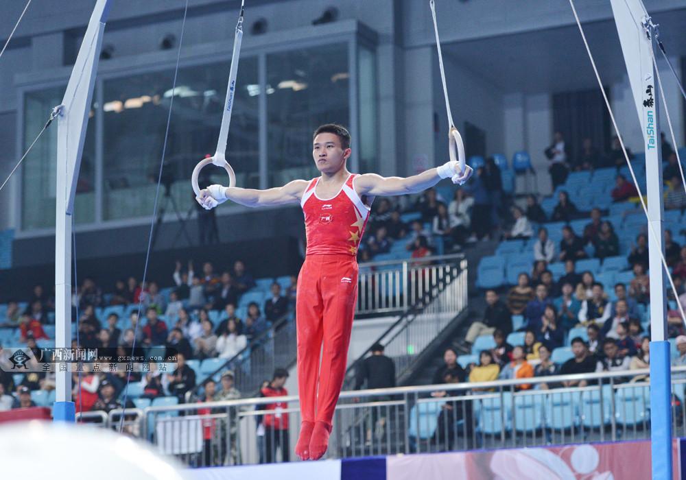 广西体操世界冠军兰星宇祝全区人民福来运转吉祥如意