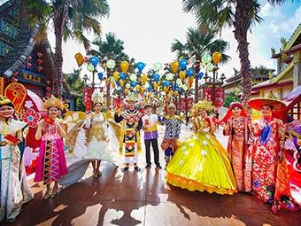 2月7日焦点图:广西各地新春文化旅游活动精彩纷呈