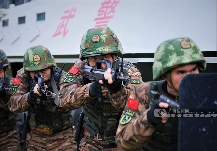 燃爆!广西武警实战化演练提升全时域处突能力