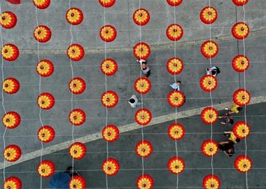 广西钦州:逛庙会 过新年