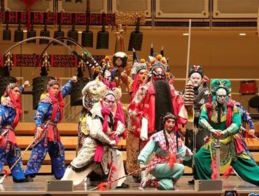 悠扬古乐声 欢喜中国年——中国编钟和京剧在美演出侧记