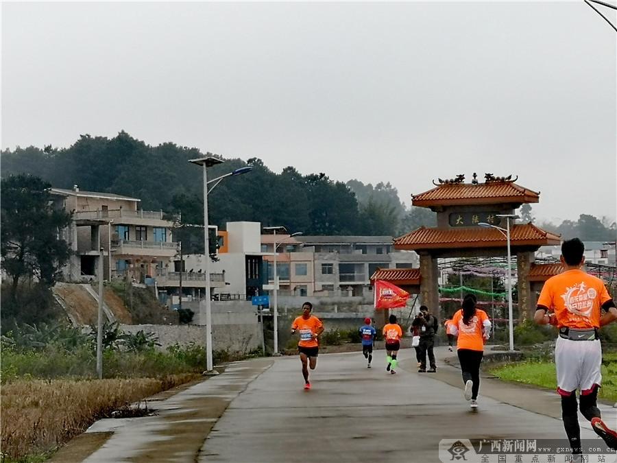 稻花香里田园微型马拉松开跑(图集)