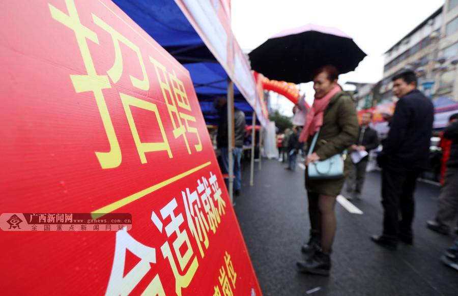 柳州融安举行大型招聘会吸引众多求职者(组图)