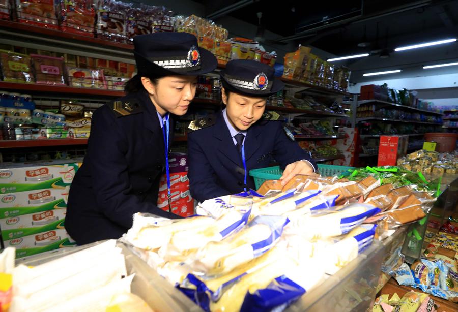 高清:融安开展学校周边食品安全专项检查