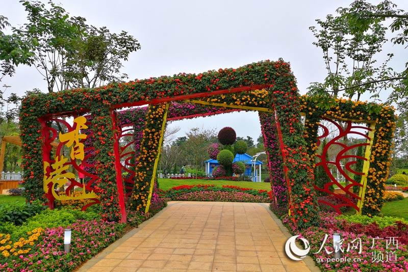 南宁园博园香港园:科技而唯美尽显美态与闲情