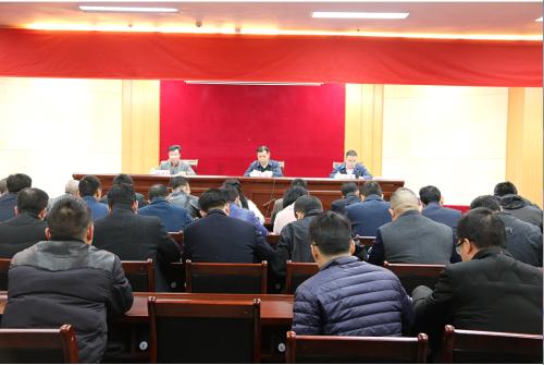 贺州召开2019年解决企业拖欠工资问题联席会议