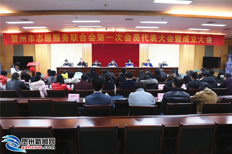 贺州市志愿服务联合会正式成立