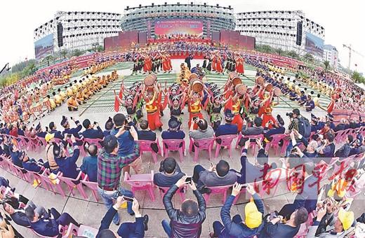 """武鸣""""壮族三月三""""歌圩暨骆越文化旅游节即将举行"""