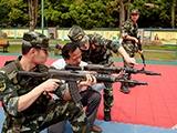 高清组图:警营开放日 国防教育零距离