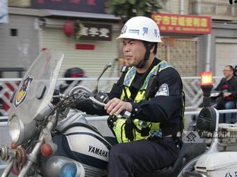 【12小时】从警20年 他是南宁交通安全的忠诚卫士