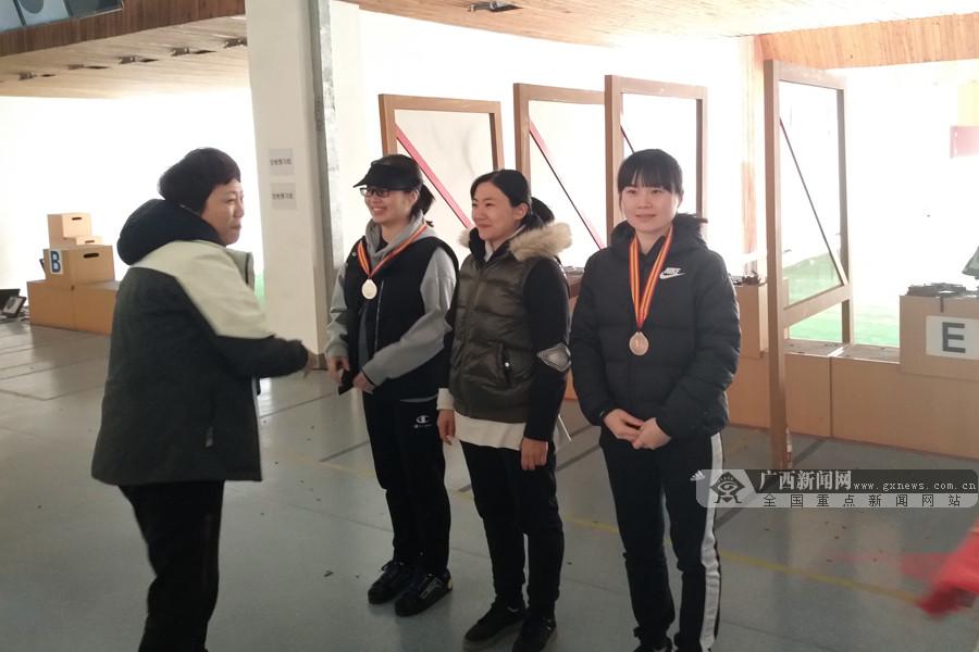 黎夏获铜牌!广西女子手枪时隔26年实现奖牌突破