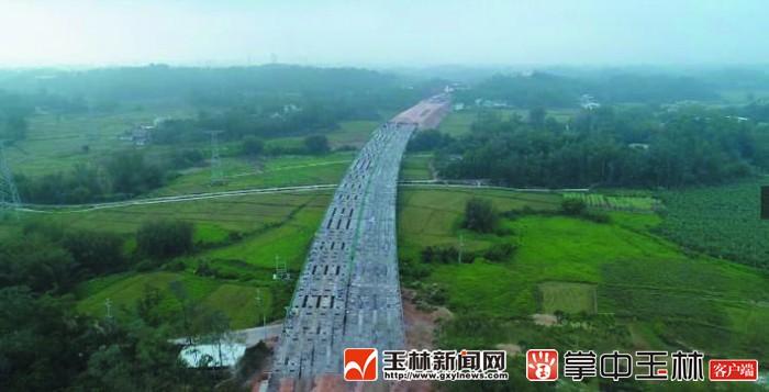 玉湛高速(银河注册段)力争今年建成通车