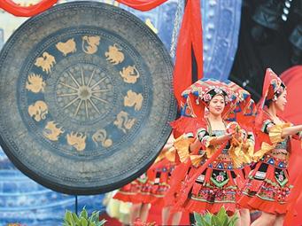 高清圖集:壯鄉喜迎三月三 八桂歡慶嘉年華