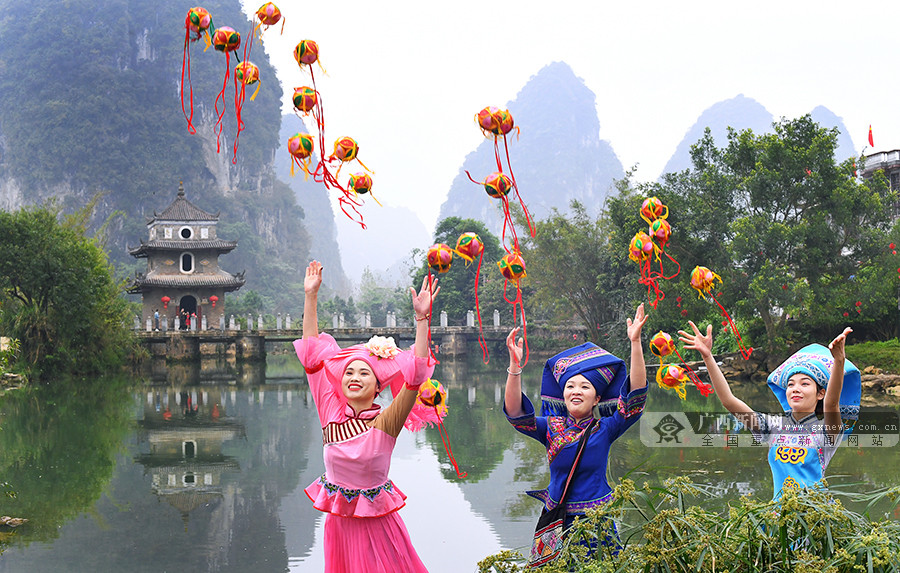 高清组图:桂风壮韵显魅力 民族文化展风采