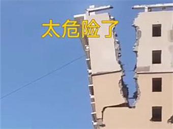 4月14日焦點圖:網傳南寧一處高樓坍塌 真相來了