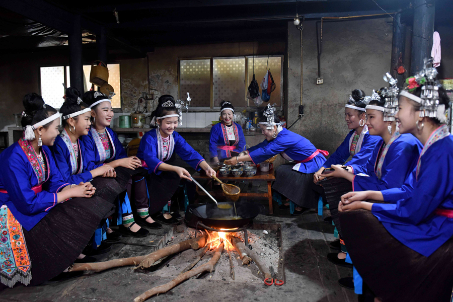 油茶飘香风情浓 柳州三江举办油茶文化节(组图)