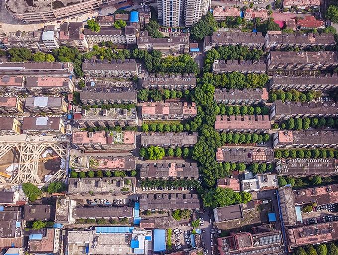 高清:南宁市古城路大板一区——挽留这一刻的光阴