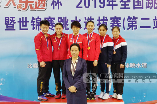 2019全国跳水冠军赛落幕:广西籍选手获1金1银1铜