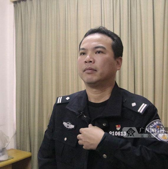 从警20年,他是南宁交通安全的忠诚卫士