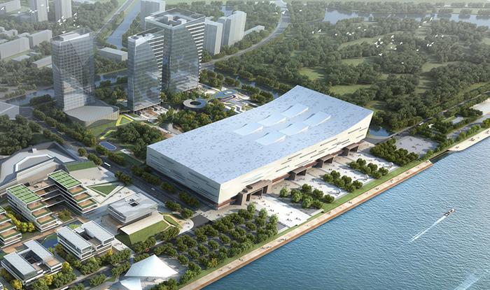 组图|探访福州数字中国会展中心 高科技元素受热捧