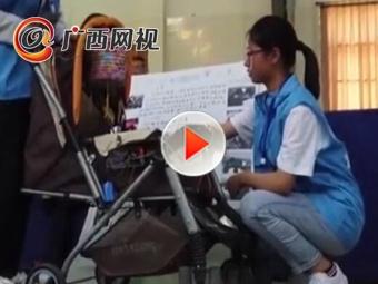 宠妹狂魔!17岁学生自行编程制作哄娃婴儿车