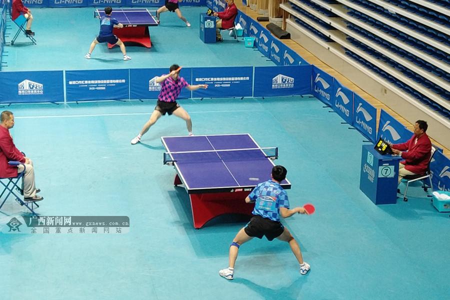 十年磨一剑:广西乒乓球队重返全国锦标赛决赛舞台