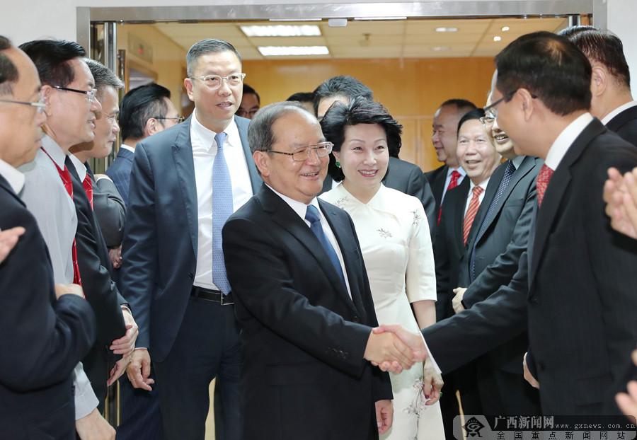 鹿心社率团拜访港区省级政协委员联谊会
