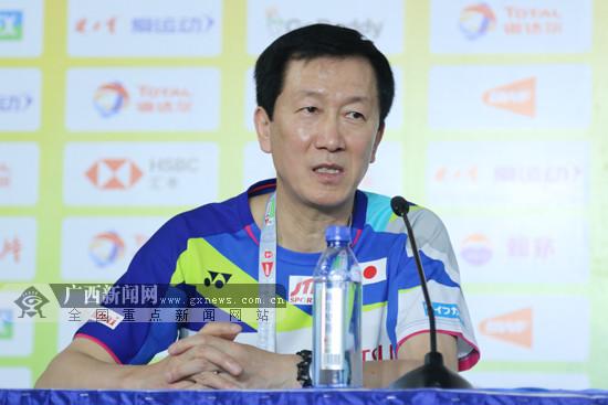 朴柱奉:今年是日本队首次捧起苏迪曼杯的最佳时机