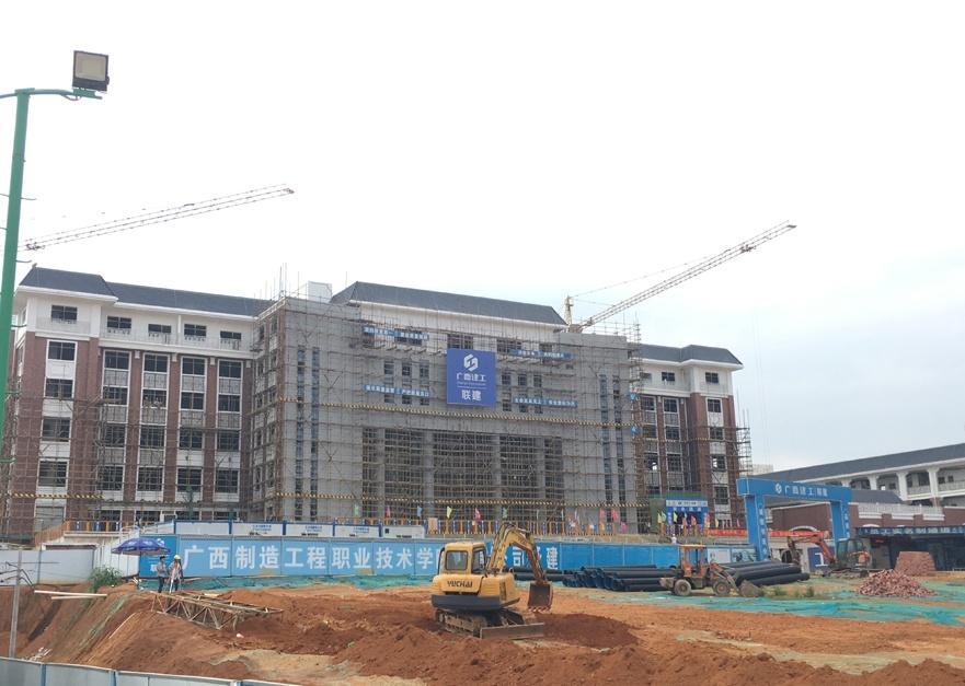 21日焦点图:南宁教育园区已有19所学校建新校区