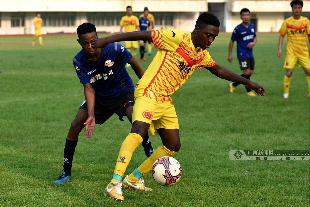 桂林城市足球联赛超级组战罢 桂林天龙俱乐部夺冠