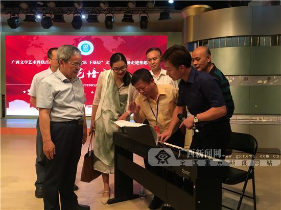 高雅的艺术盛宴!中越文艺家进校园开展文艺活动