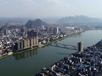 江在城中,城在江中 俯瞰夏日融江美麗畫卷(組圖)
