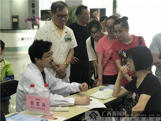 广西中医一附院开展2019年全国护肤日惠民义诊活动