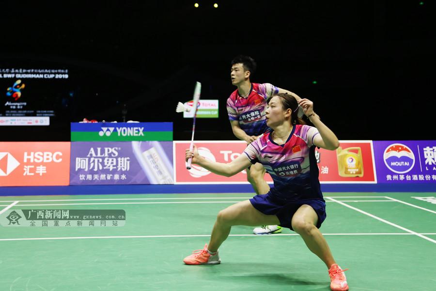 中国队3-0速胜泰国队 轻松挺进苏迪曼杯决赛(图)