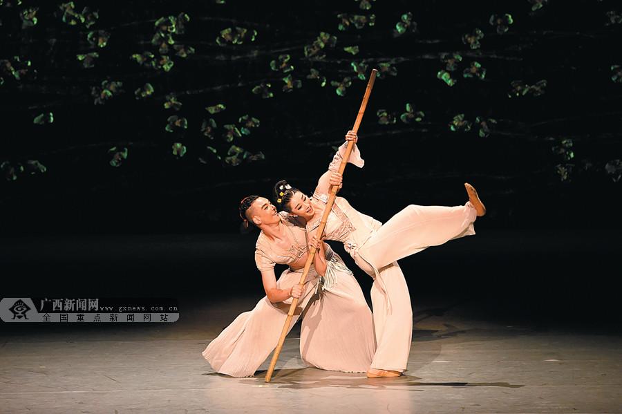 高清组图:舞剧《刘三姐》赴京展现壮美广西风采