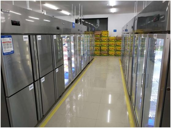 苏宁小店某前置仓开业3天 销售破18万