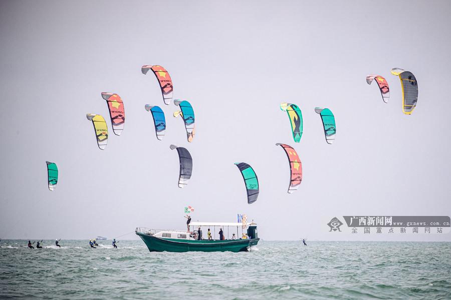北海风筝板系列赛临近尾声 中国选手心态积极(图)