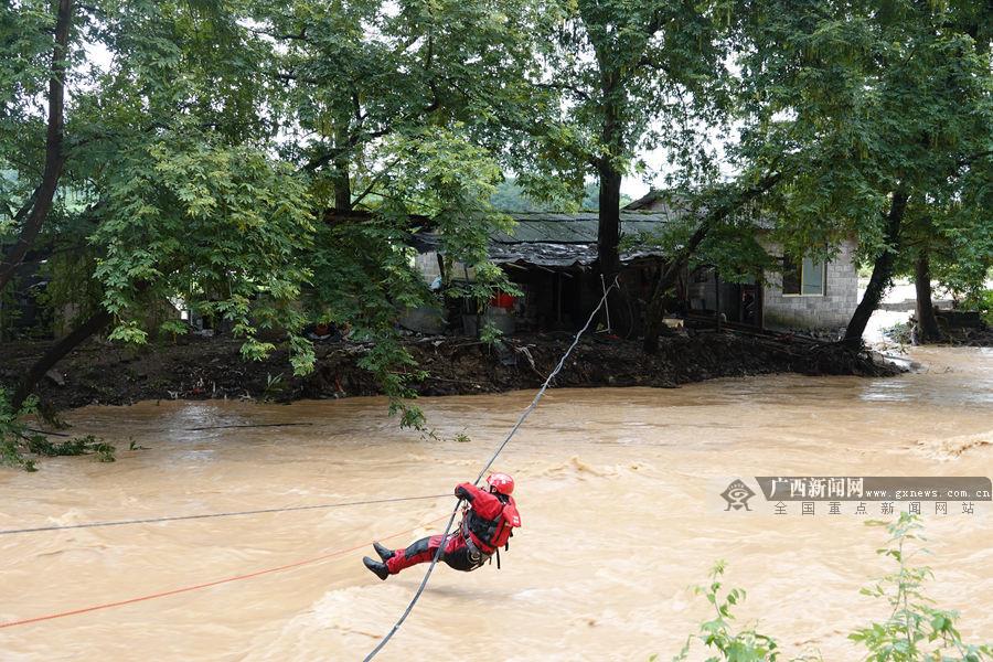6月10日焦点图:广西强降雨防御再升级 23条河流洪水超警戒水位