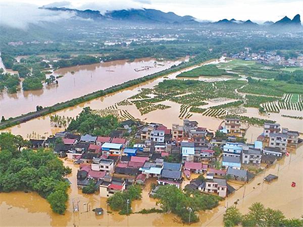 10日焦點:廣西強降雨防御升級 23條河流洪水超警