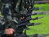 来宾:武警官兵练兵正当时(组图)