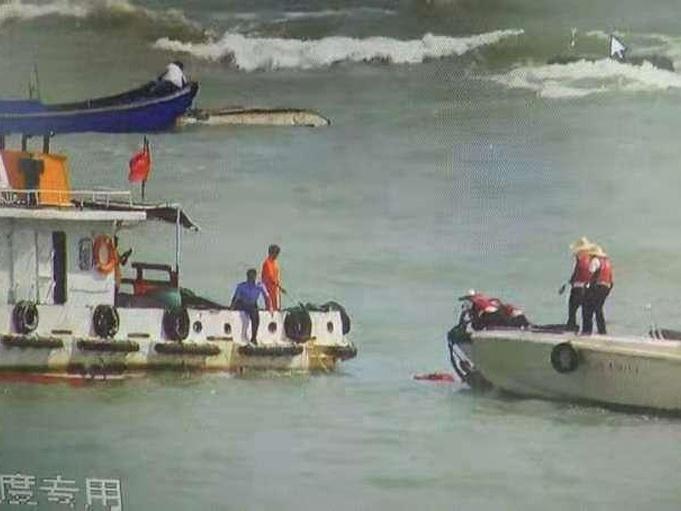 一外地游客在北海溺水身亡 被巨浪推出数百米远