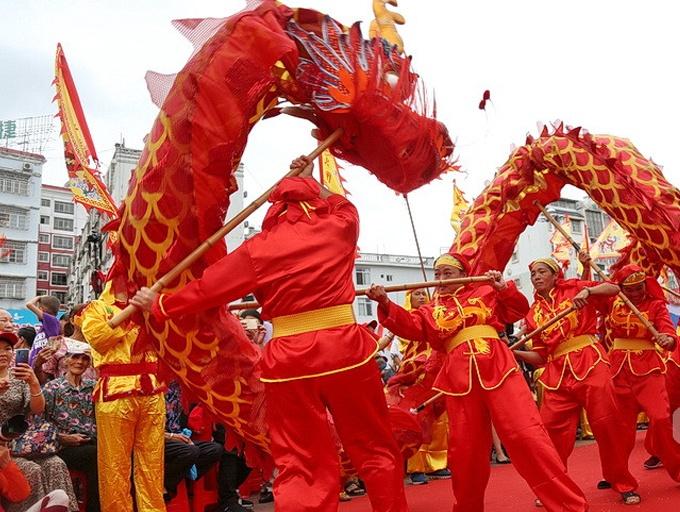 2019年廣西環江·毛南族分龍節正式開幕